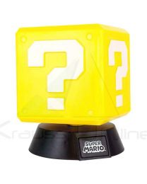 Lampara 3D Question Block Super Mario Bros Nintendo (5055964717827)
