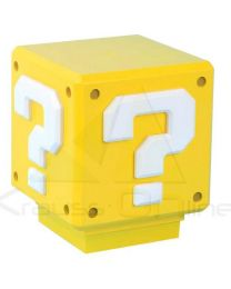 Lampara Sonido Mini Question Block Super Mario Bros Nintendo (5055964707224)