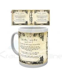 Taza Death Note Rules (5028486337767)