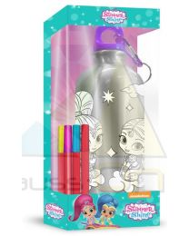 Botella cantimplora 500ml coloreable de Shimmer And Shine  (SH17086)